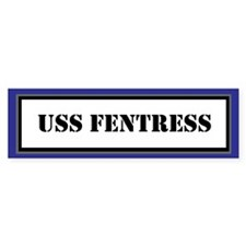 USS Fentress Bumper Sticker