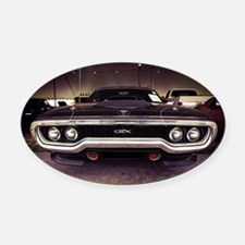 GTX Oval Car Magnet