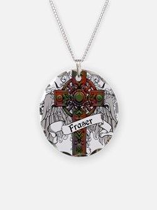 Fraser Tartan Cross Necklace