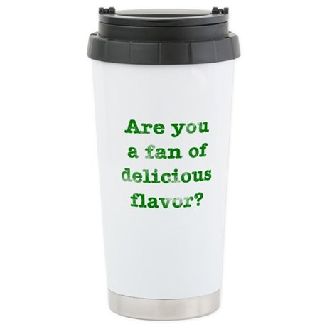Delicious Flavor Stainless Steel Travel Mug