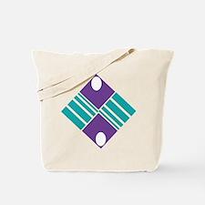 Artistic Geometric Delight Tote Bag