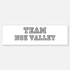 Team Noe Valley Bumper Bumper Bumper Sticker