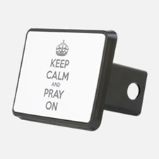 Keep calm and pray on Hitch Cover