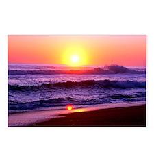 Beach Sunrise Postcards (Package of 8)