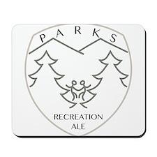Parks Recreation Ale Mousepad