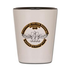 Navy - Rate - AW Shot Glass