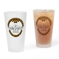 Navy - Rate - AW Drinking Glass