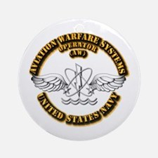 Navy - Rate - AW Ornament (Round)