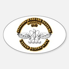 Navy - Rate - AW Sticker (Oval)