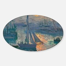 Monet - Sunrise Marine Decal