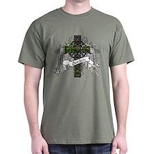 Gordon Tartan Cross T-Shirt