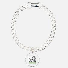 Live Love Pomeranians Bracelet