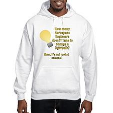 Aerospace Engineer Lightbulb Joke Hoodie