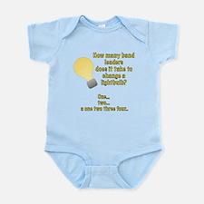 Band leader lightbulb joke Infant Bodysuit
