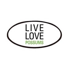 Live Love Possums Patches