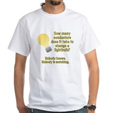 Conductor lightbulb joke Shirt