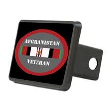 Afghanistan Veteran 1 star Hitch Cover