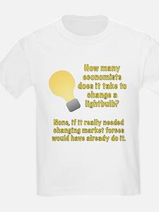 Economist lightbulb joke T-Shirt