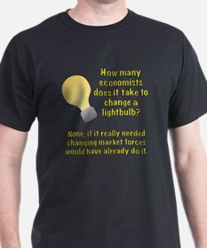 Economist lightbulb joke T-Shirt