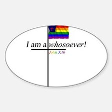 Whosoever1.png Sticker (Oval)