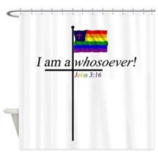 Whosoever1.png Shower Curtain