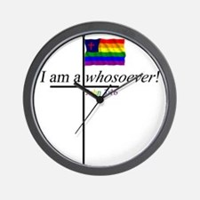 Whosoever1.png Wall Clock