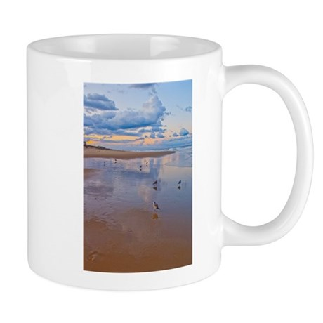 Ocean Birds at Sunrise Mug