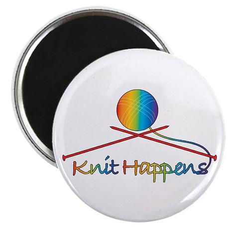 Knit Happens Magnet