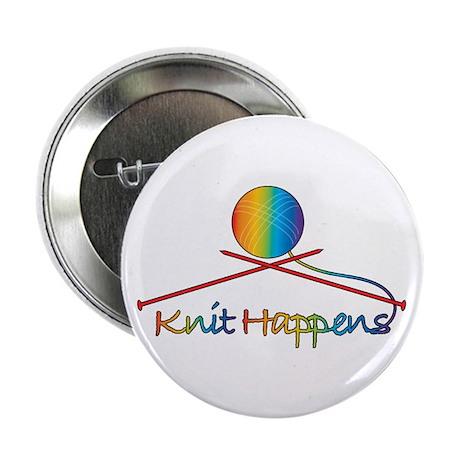 """Knit Happens 2.25"""" Button (10 pack)"""