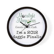 MnM Maggie Finalist Wall Clock