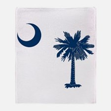 Cute Palmetto Throw Blanket
