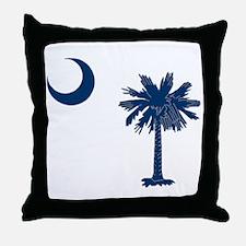 Funny Palmetto Throw Pillow