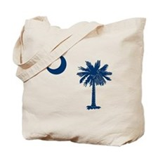 Cute South carolina palmetto tree Tote Bag