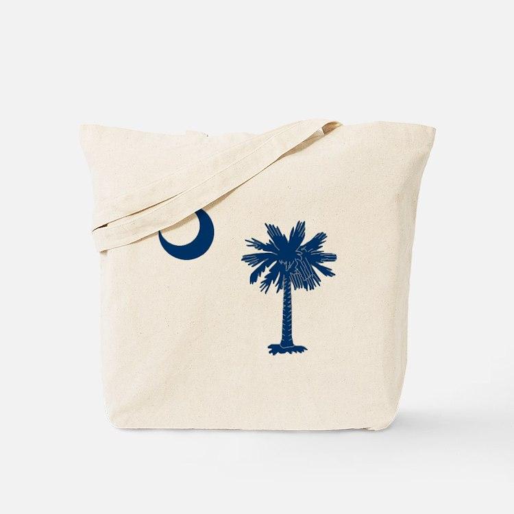 Cute Palmetto moon Tote Bag