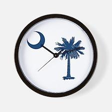 Cute South carolina Wall Clock