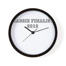 Maggie Finalist 2012 Wall Clock