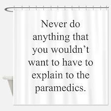 Paramedics Shower Curtain