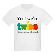YesWereTwinsFraternal T-Shirt