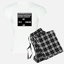 Finance Nerd Pajamas