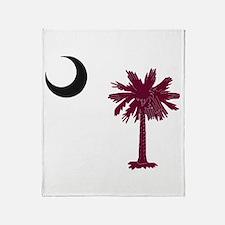 Unique Palmetto Throw Blanket