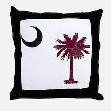 Cute Palmetto Throw Pillow