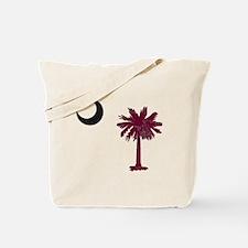 Cool Palmetto moon Tote Bag