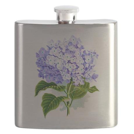 Hydrangea Flask