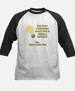 statistician lightbulb joke Tee