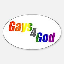 Gays4God Decal