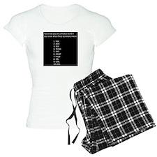 Finance Nerd Acronyms Pajamas