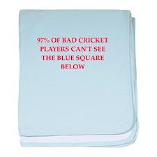 cricket joke baby blanket