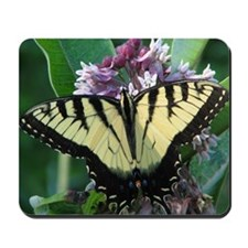 Yellow Butterfly - Mousepad