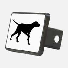 Pointer Dog On Point Hitch Cover