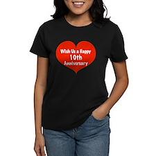 Wish us a Happy 10th Anniversary Tee